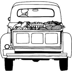 Are you looking for some free coloring pages for your kids? Here are some printable coloring pages for farm scenes. Farm Trucks, Old Trucks, Pickup Trucks, Pickup Camper, Jeep Pickup, Diesel Trucks, Lifted Trucks, Christmas Red Truck, Christmas Colors