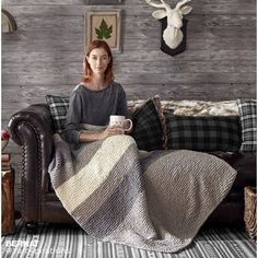 Hiberknit Knit Blanket