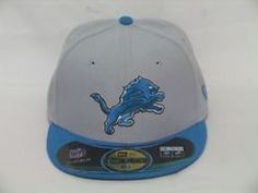 NEW ERA 59 FIFTY ON FIELD DETROIT LIONS FITTED HAT NWT SZ 6 5/8 FREE SHIPPING #NewEra #DetroitLions