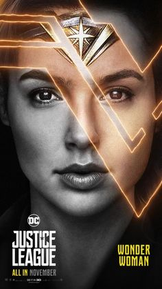 Justice League Movie Poster 2017 Wonder Woman Played by Gal Gadot - DigitalEntertainmentReview.com