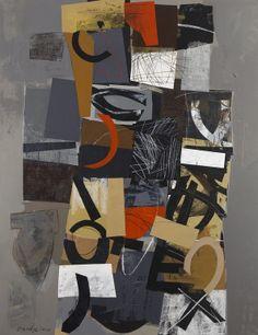 "Saatchi Online Artist: Djordje Djordjevic; Acrylic, 2010, Painting ""Noice balance or intentional disharmony -3"""