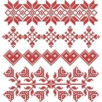 Traditional Cross Stitch Band Samplers - Addicted To Stitches Cross Stitch Borders, Cross Stitch Samplers, Counted Cross Stitch Kits, Cross Stitching, Cross Stitch Embroidery, Embroidery Patterns, Cross Stitch Patterns, Knitting Patterns, Blackwork