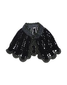 cute crochet wool capelet ♥