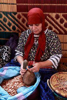 Producing Argan oil . Morocco. #YankeeCandleOfficial #GrandBazaar