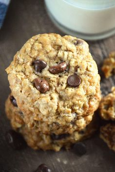 Gluten Free Oatmeal Raisinet Cookies are chewy, sweet, and oh, so good. The whole family will love them. Click through for recipe!