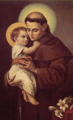 """""""The Lord manifests Himself to those who stop for some time in peace and humility of heart. If you look in murky and turbulent waters, you cannot see the reflection of your face. If you want to see the face of Christ, stop and collect your thoughts in silence, and close the door of your soul to the noise of external things.""""--St. Anthony of Padua, Feast day: June 13"""