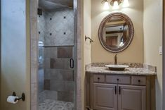 47 N Gary Glen Cir, Spring, TX 77382 Wrought Iron Staircase, Juliet Balcony, The Woodlands Tx, Trim Work, Summer Kitchen, Bathroom Kids, Ceiling Beams, Wood Paneling, Built Ins