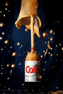 diet coke and mentos for physical and chemical changes