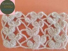 It is so enjoyable to make that this beautiful Venus knitting pattern . - Knitting a love Crochet Lace Edging, Crochet Motifs, Crochet Stitches Patterns, Crochet Chart, Knitting Stitches, Knitting Patterns, Crochet Wallet, Crochet Bracelet, Diy Crafts Crochet