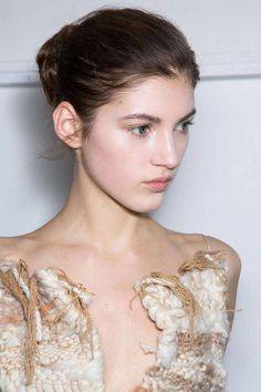 The off-duty ballerina bun is a top hair trend for Fall 2014. Click to see the rest!