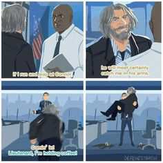 Detroit Become Human Memes/Comics - 79 Luther, Steven Universe, Quantic Dream, Detroit Become Human Connor, Becoming Human, I Like Dogs, Wattpad, Father And Son, My Guy