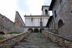 Chiesa del Santo Sepolcro - Santo Sepolcro church near Val d'Astino monastery - Bergamo, Lombardy, Italy. City Architecture, Saints