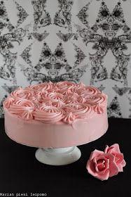 Marian pieni leipomo: Suklaakakku tuorejuustokuorrutteella Cute Cakes, Yummy Cakes, Food N, Making Ideas, Panna Cotta, Birthday Cake, Ethnic Recipes, Sweet, Desserts