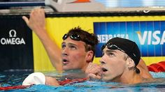 Ryan Lochte - Michael Phelps