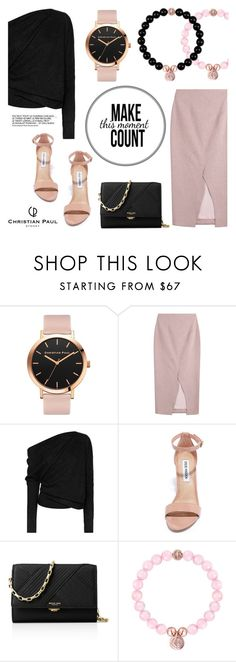 """""""Make the moment count!"""" by christianpaul ❤ liked on Polyvore featuring Roksanda, Tom Ford, Steve Madden, Michael Kors and contemporary"""