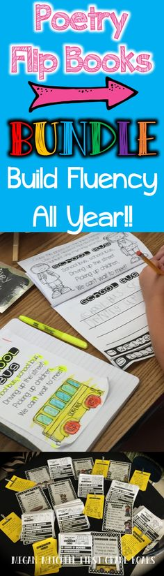 Build your student's fluency by doing weekly poems.  All poems are original and come with a flip book to dig deeper into the poem.  Work on fluency, rhyming, comprehension, punctuation, context clues, and more!