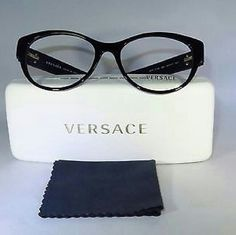 7570f7529e4a Versace Eyeglasses Versace Eyeglasses New and Authentic Black frame  Includes original case Versace Accessories Glasses