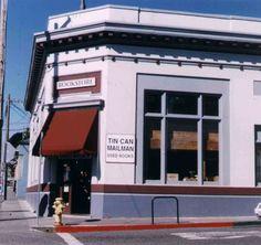 Tin Can Mailman Used books store Arcata, CA.