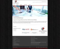 Responsive website for Comunimprese a company based in Milan. www.comunimprese.it/
