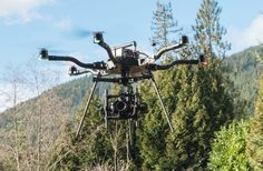 West Vancouver's Lofty Media uses drones like this Freefly Alta model to shoot aerial video for real estate companies. Marketing director Andrew Fyfe says the company intends to move into bigger film productions and is preparing to shoot crop surveying video for farmers.