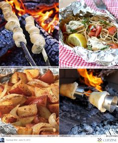 EASY Camping Recipes. Take Lodge camping with you next time. Check out our extensive selection here http://www.katom.com/vendor/lodge.html