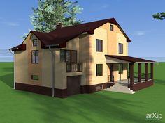 Проект дома: зd визуализация, архитектура #3dvisualization #architecture arXip.com
