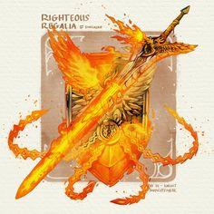 Fantasy Sword, Fantasy Weapons, Dark Fantasy Art, Fantasy Artwork, Dungeons And Dragons Homebrew, D&d Dungeons And Dragons, Fantasy Character Design, Character Art, Armas Ninja