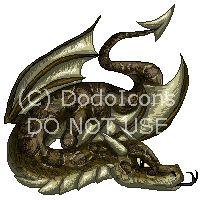 Python dragon by DodoIcons.deviantart.com on @deviantART