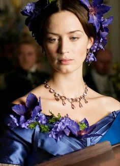 Emily Blunt in 'The Young Victoria' (2009).