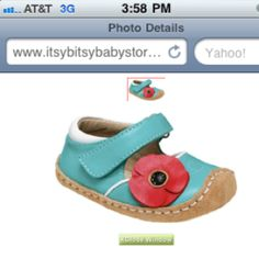 Cute little girl shoes!