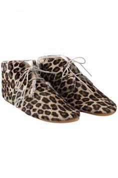 Leopard print shoes - shoes