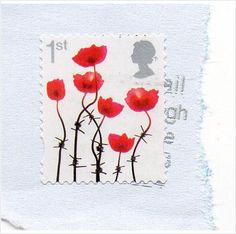 GB 2012 poppies with barbed wire stems 1st used Listing in the Commemoratives,Decimal,Queen Elizabeth II,Great Britain,Stamps Category on eBid United Kingdom