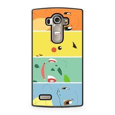 Pokemon Charmander Pikachu Bulbasaur Squirtle LG G4 case
