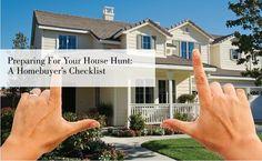 A Homebuyer's checklist.