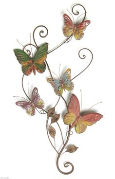 Metal Decorative Wall Butterflies | eBay