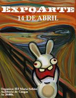 If you like this, check out the updated version: Bunnies Scream Again This is my homage to my fellow Norwegian Edvard Munch (his Scream of course) . Bunnies Do Scream Scream Parody, Scream Art, Edvard Munch, Le Cri Munch, Japon Illustration, Pop Art, Rabbit Art, Arte Disney, Famous Art