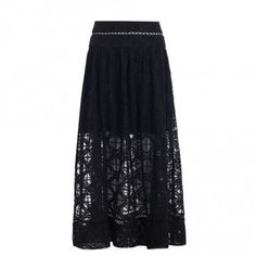 Haze Cross Stitch Skirt - Swim & Resort