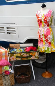 Night Moves Threads Vintage Clothing at the 2014 September FOUND FLEA!