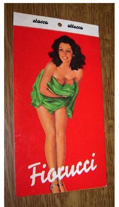 Fiorucci Red Tag, Green Lady
