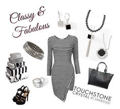 """""""Classy in black in white"""" by michelle-griffith-ray on Polyvore"""