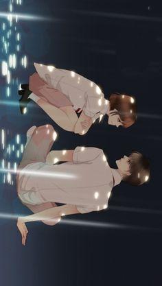 Cute Anime Guys, Webtoon, Manhwa, Kdrama, Manga Anime, Wallpaper, Beaded Jewelry, Scene, Silhouettes