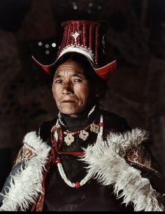 Ladakhi people - India by Jimmy Nelson - tribe portrait