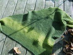 diagonal shawl, free pattern