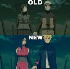 Hinata and Naruto VS Sarada and Boruto ❤️❤️❤️