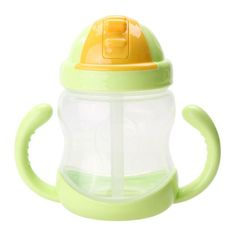 Baby Cup Straw Handle Bottle
