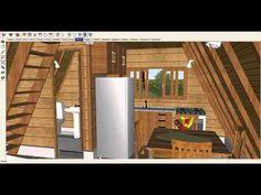 Modelo que destina-se a ferramenta de apoio na venda de chales e projetos de casas pré-fabricadas