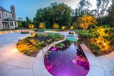 Merveilleux Custom Swimming Pool By Cipriano Landscape Design Stradivarius Violin,  Decoration Noel, Garden Lighting Decoration