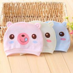 Lindo binaural estilo de primavera y verano de algodón recién nacido niño niña sombreros para bebés chapeau tapas infantiles sombrero del niño recién nacido tocados en Sombreros y Gorras de Bebés en AliExpress.com | Alibaba Group
