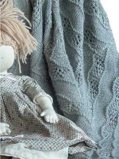 Alpaca Baby Blanket Knit Pattern