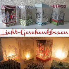 Tutorial für Licht-Geschenkboxen von Daniela blog.made-by-dani.de für #WeihnachtenKannKommen von www.danipeuss.de